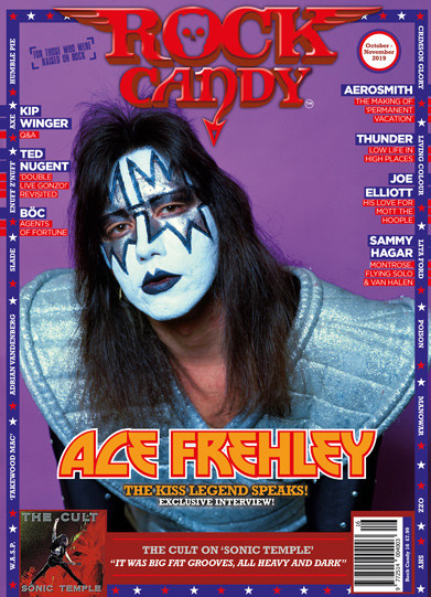 Dive into Issue 16 and enjoy our Ace Frehley cover story as the Kiss legend opens with a no-holds-barred exclusive interview