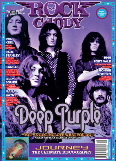 Issue 21 is available right now, featuring our fabulous cover of Deep Purple.