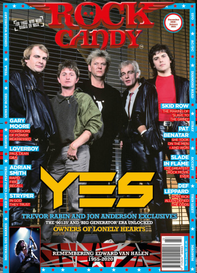 Issue 23 is available right now, featuring our cover story in-depth analysis of the classic Yes '90125' and 'Big Generator' era.