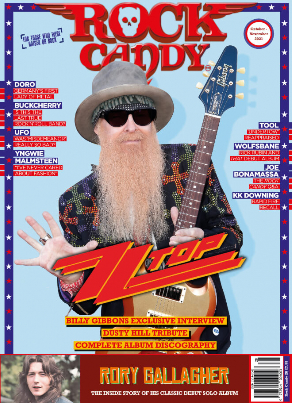 Issue 28 is available right now, featuring our massive 16-page ZZ Top cover story that includes an exclusive interview with Billy Gibbons, a definitive discography, and a tribute to Dusty Hill