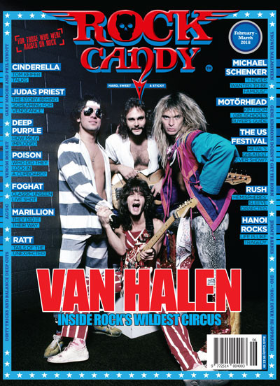 Join us for a 14 page Van Halen special!