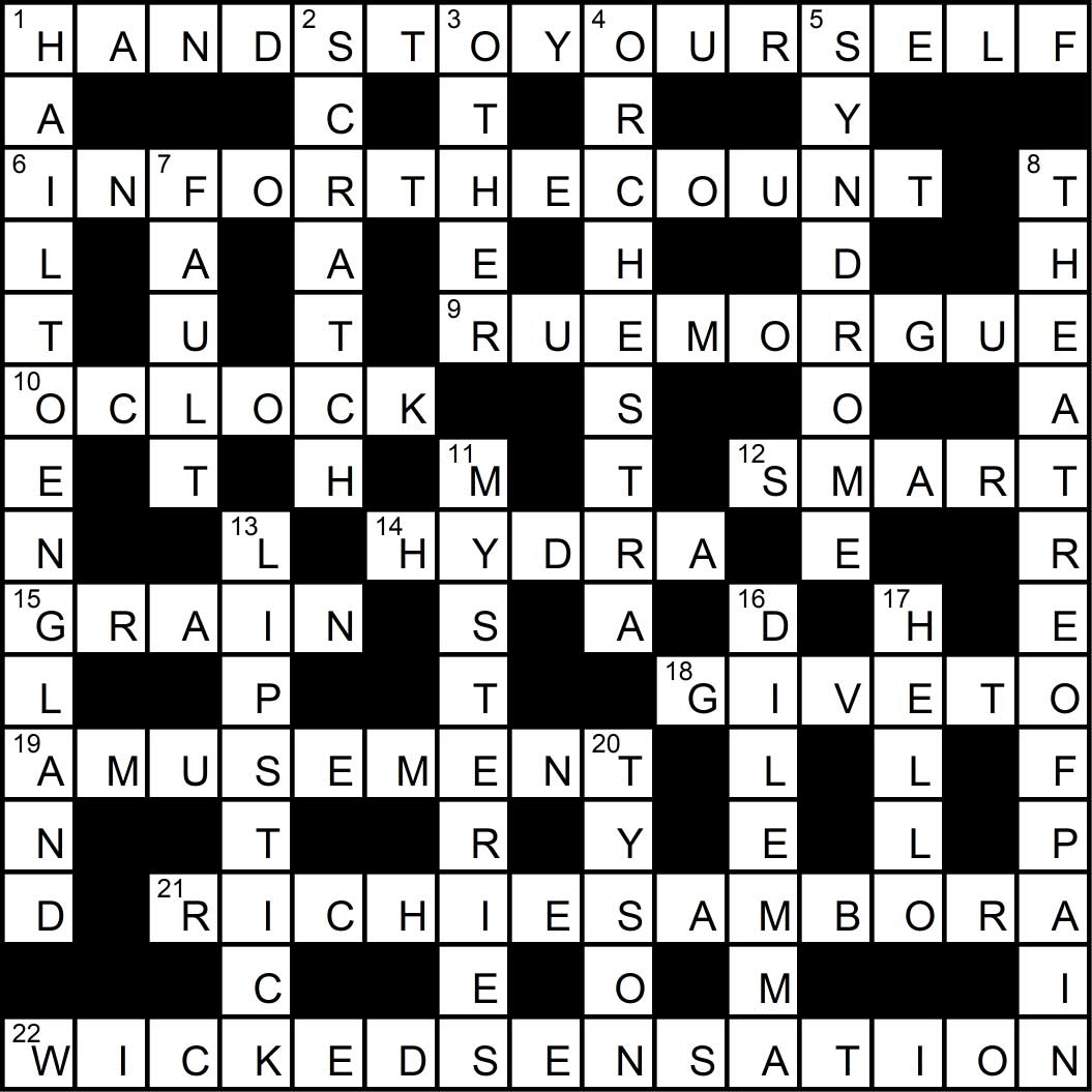 Crossword puzzle issue 5