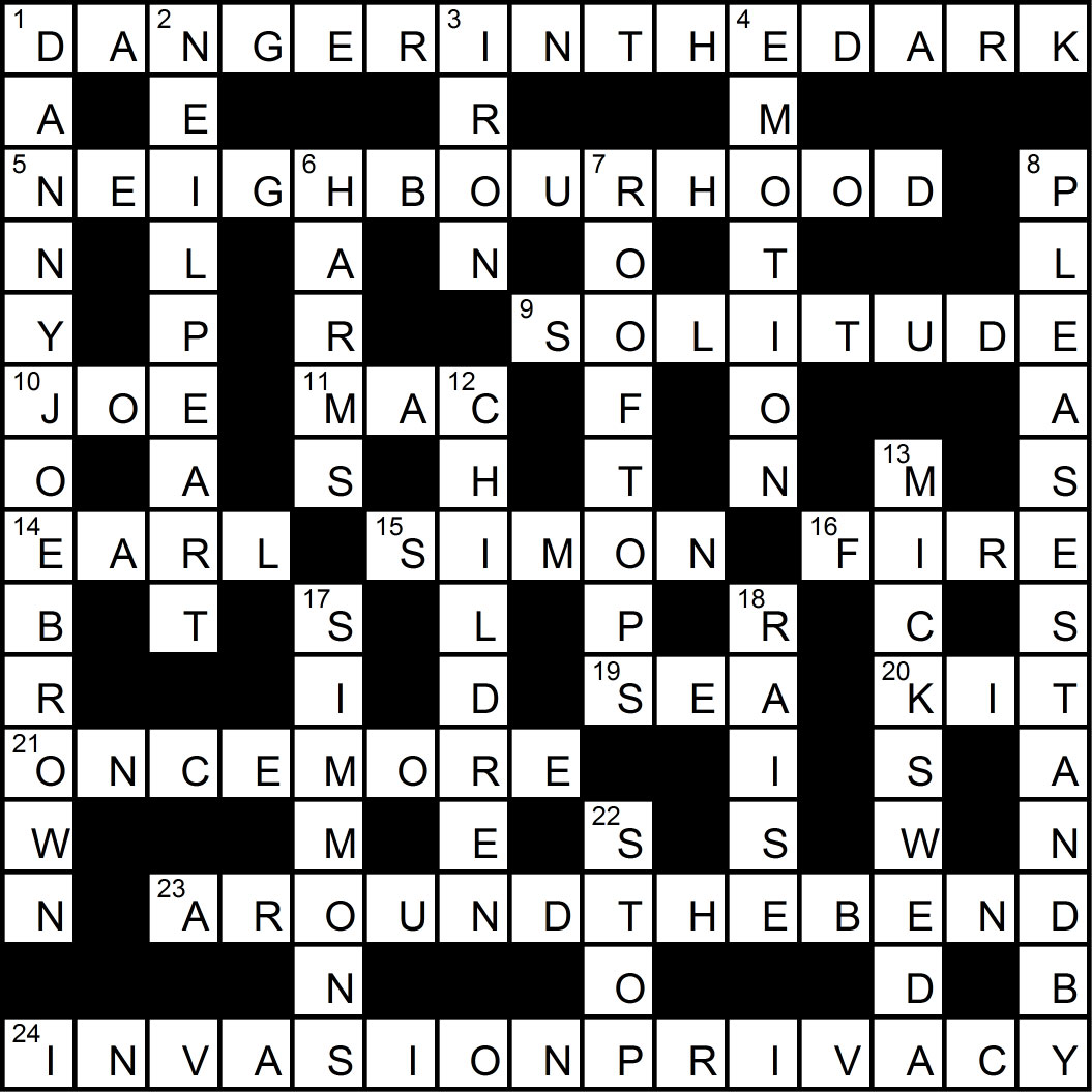 Crossword puzzle issue 2