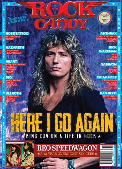Featuring 14 pages of David Coverdale giving you a personal insight into the stories behind the photos that define his career!