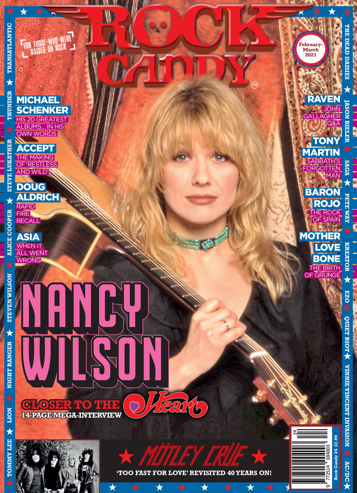 Issue 24 is available right now, featuring our 14-page cover story interview with Heart legend Nancy Wilson.