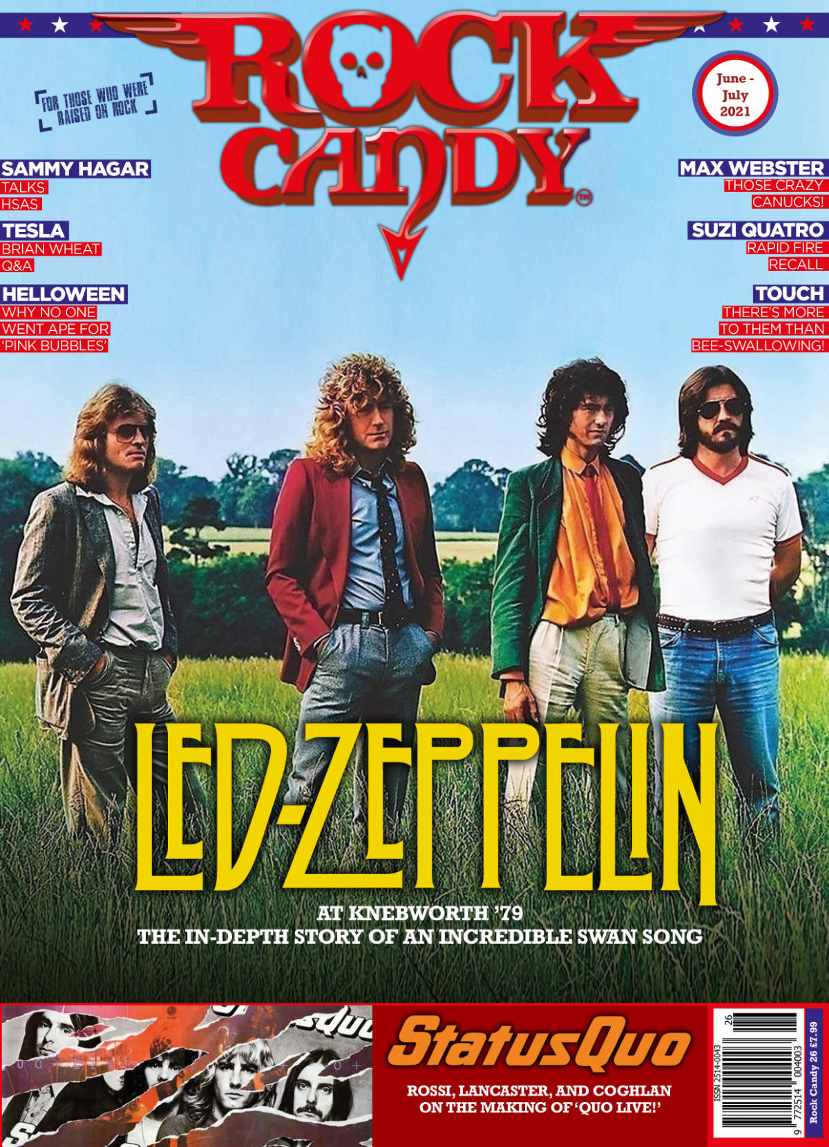 Issue 26 is available right now, featuring our 12-page deep-dive Zep at Knebworth '79 cover story