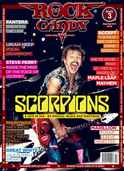 Rock Candy Mag Issue 3 cover