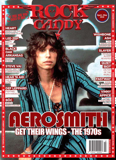 Saddle up for our 14-page Aerosmith '70s special!