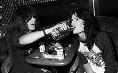 Nikki Sixx and Tommy Lee – 1984