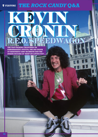 E STORY BEHIND THE PIECE – R.E.O. SPEEDWAGON
