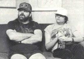 Xavier & Dave Hlubek Dec 1984-2.jpg